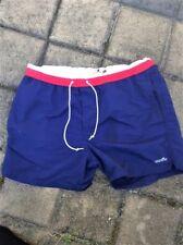 Mens Blue Cotton On Swimming Swimwear Shorts Boxer Briefs Trunks W 33 Size M