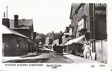 Hertfordshire Postcard - Bygone Bishops Stortford - South Street c1922 - Ref.U82