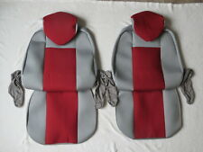 VW T4 CARAVELLE/TRANSPORTER 1+1 STRONG FABRIC TAILORED SEAT COVERS!!SALE SALE!!