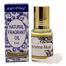 Magic Of India KRISHNA MUSK Fragrant Oil in Roll on Bottle - 2x5 ml