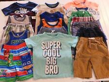 Boy 24 Month 2T Spring Summer Clothes Shirts Shorts Trunks Outfits Lot FREE SHIP