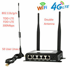 300Mbps Industrial Wireless 4G LTE WiFi Router With SIM Card Slot 802.11b/g/n