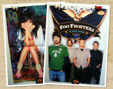 Foo Fighters / Ashlee Simpson magazine poster A3
