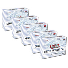 Ghosts from the Past Display of 5 Boxes 1st Edition Sealed Yu-Gi-Oh!