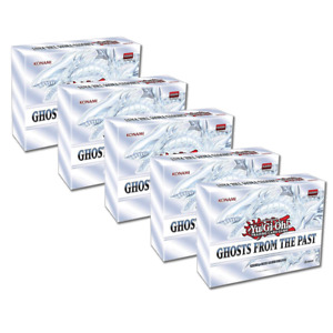 Ghosts from the Past Display of 5 Boxes 1st Edition Sealed Yu-Gi-Oh! Presell