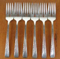 Set 6 x Salad Forks Oneida 1881 Rogers Proposal 1954 vintage silverplate silver