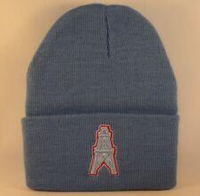 Houston Oilers NFL Reebok Throwback Cuffed Knit Hat Blue