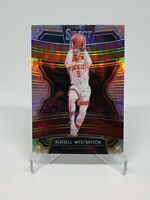 Russell Westbrook Silver Prizm 2019-20 Panini Select Concourse #61 Rockets Card