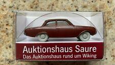 Wiking: Ford Taunus 17m Badewanne, Werbemodell Auktionshaus Saure  (GK87)