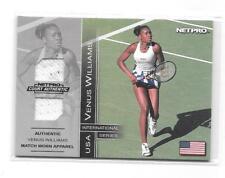 2003 Venus Williams NetPro International Series Match Worn Clothing Card 044/500