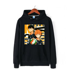 Haikyuu!! Hinata Shoyo Hoodies Coat Sweater 100% Cotton