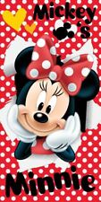 Disney Minnie Mouse Spots Beach Bath Towel