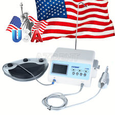 US Dental LED Screen Implant Motor System Brushless + Contra Angle A-CUBE