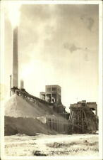 Victorville CA Portland Cement Co Frashers Real Photo Postcard