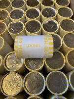 1 Unsearched Roll of Half Dollars-POSSIBLE 40% 90% Silver-Buy More Save More!!