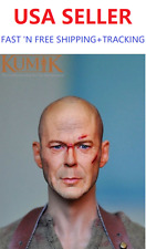 KUMIK 13-53 1/6 Walter Bruce Willis Head Sculpt Sin City RED 2  for 12'' figure