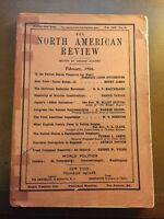 The North American Review Anthology Magazine Publication February 1906 Essays
