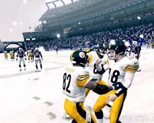 MIKE TOMCZAK 8X10 PHOTO PITTSBURGH STEELERS  PICTURE NFL SNOW