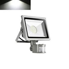 Projecteur LED 30W Lampe Extérieur Avec Detecteur Eclairage blanc froid IP65