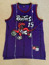 Vince Carter Toronto Raptors Jersey Throwback Nike mens size Large NBA