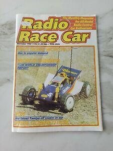 Vintage Radio Race Car Magazine November 1986 Tamiya Bigwig Schumacher PB Marui