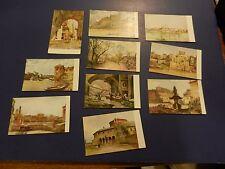 Vintage Postcards Lot Of 11 Roma Sparita Series 11 Milano Rome early 1900's NICE