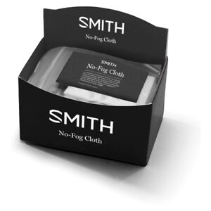 Smith Sunglass and Goggle No Fog Cloth | Microfiber Lens Cleaning Wipe | FOG