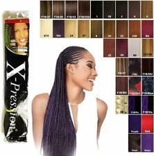 "X-PRESSION (XPRESSION) ULTRA HAIR FOR BRAIDING, EXPRESSION ""KANEKALON"" ORIGINAL"