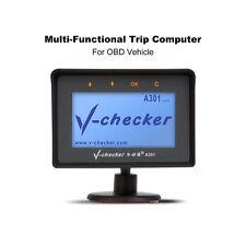 V-checker A301 Trip Computer OBD II Scanner Car Engine Fault Code Reader