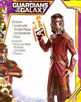 Guardians of the Galaxy Small 6 Star Lord Child Marvel Costume Star Lord Boy NWT