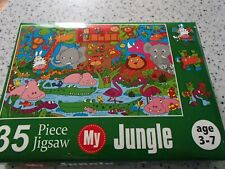 SPECIAL SALE == 2 X KIDS PUZZLES 35 PIECES EACH  NEW IN BOXES