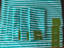 8 pc Kate Spade HARBOUR DRIVE TURQUOISE Placemats 4 & Napkins 4 New w/ tags