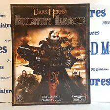Fantasy Flight Games Warhammer 40,000 Dark Heresy Inquisitor's Handbook OOP