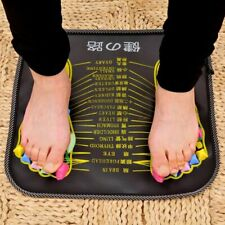 Feet Massager Acupuncture Cushion Foot Reflexology Massage Pad Walk Stone Health