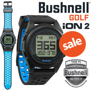 Bushnell Neo iON 2 GPS Golf Watch Black/Blue 36,000+ Pre-Loaded Courses