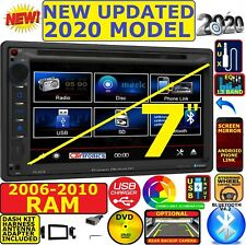 06 07 08 09 10 RAM TOUCHSCREEN BLUETOOTH CD DVD USB DOUBLE DIN CAR STEREO RADIO