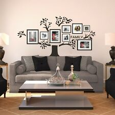 Family Tree Wall Sticker Photo Picture Frame Display Removable Vinyl Home Decor