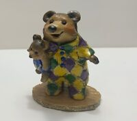 Wee Forest Folk - BB10 - Nightie Bear - RARE Piece - SPECIAL COLOR ! Ships 1 day