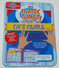 Cat's Cradle Classic Game For Smart Kids Activity Play Tin Case Shure NEW