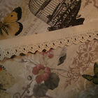 German dresden paper antique vintage embossed lace tape trim authentic 18th 1""