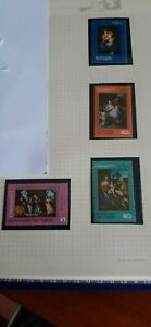 St. Kitts Nevis Anguilla 1973 Christmas Stamps