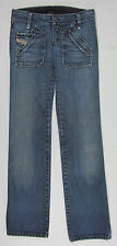 Womens Diesel Junnie Boyfriend jeans Italy Made Blue Size 26
