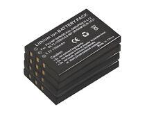New 4X NP-60 NP-30 LI-20B KLIC-5000 D-li2 Slb-1037 Battery for FinePix M603 F410