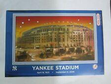 6 x 9 Yankees Stadium Final Game SEPT 21 2008 Peter Max Photo 9/21/08