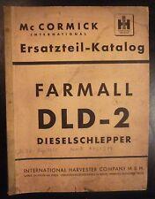 MC Cormick Schlepper DLD 2 Ersatzteilkatalog