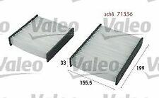 VALEO (715556) spazio interno Filtro, Filtro Polline, Micro Filtro Per Citroen Peugeot