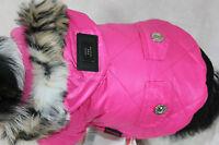 Mantel Hundejacke Hundemantel Jacke XS S M L XL XXL Hund Winter pink warm