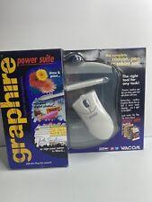 Wacom Graphire Power Suite Mouse, Pen, And Tablet Set
