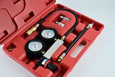 Cilindro Leak Detector Probador De Compresión fugas Kit Set De Motores De Gasolina