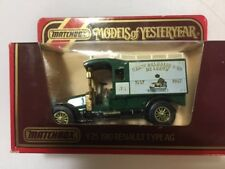Matchbox Models of Yesteryear Y25 1910 Renault Type AG Delhaize & Co
